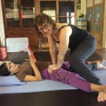 Uurtje vakantiegevoel met yogamassage