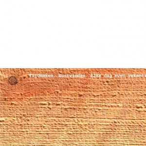 tagline hout voorpagina