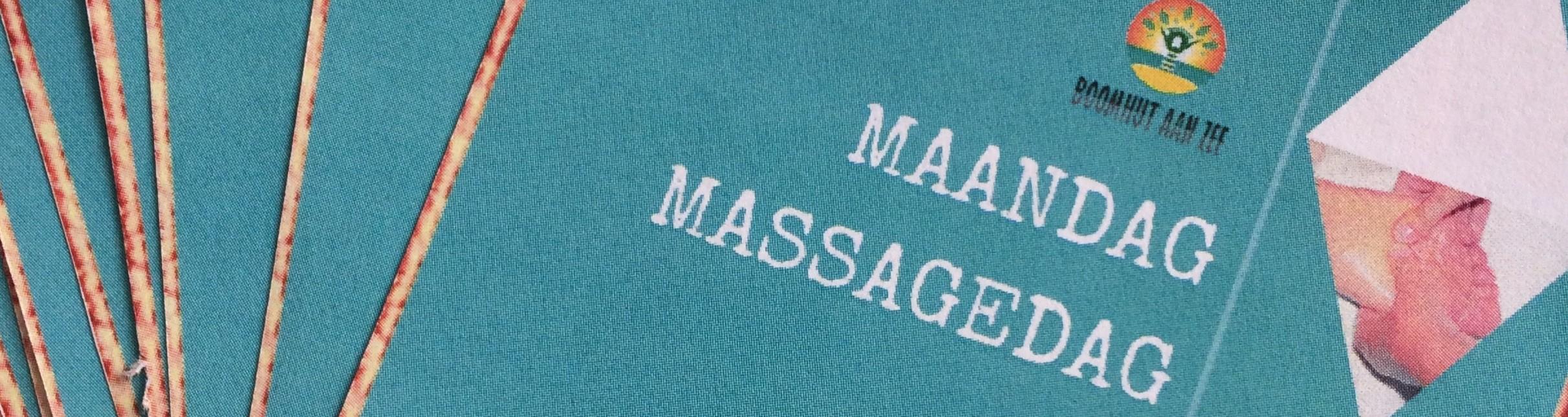 Maandag Massagedag